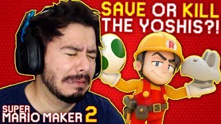 Andy STRUGGLES with RubberNinja's YOU'RE A MONSTER? - Super Mario Maker 2