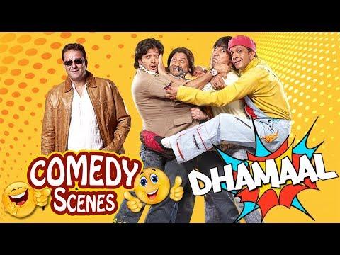 Dhamaal Comedy Scenes - Arshad Warsi - Ritesh Deshmukh - Javed Jaffrey - Asrani thumbnail