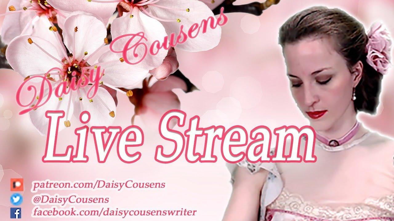Daisy Cousens Q&A Live Stream - YouTube