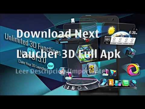 next 3d launcher full cracked red