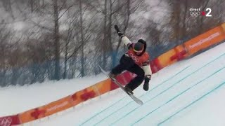JO 2018 - Snowboard Slopestyle - Le revenant Mark McMorris