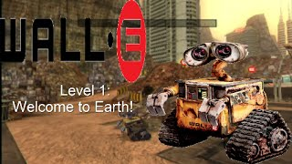 Wall-E (Wii, 360, PS3) - Part 1 - Level 1: Welcome To Earth!