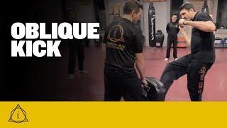 The Oblique Kick in Jeet Kune Do