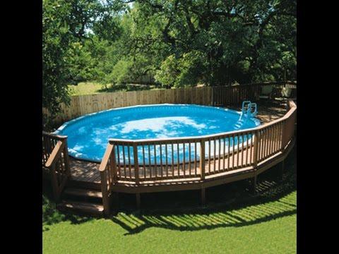 Como hacer una piscina casera economica youtube Construir una pileta de ladrillos