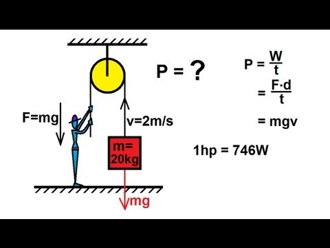 Physics - Mechanics: Work, Energy, and Power (11 of 20) The Rate of Doing Work