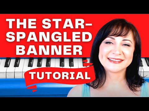 How to Play The Star Spangled Banner - Easy PianoTutorial