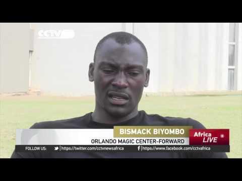 Congolese NBA star Biyombo inspires & educates young basketballers