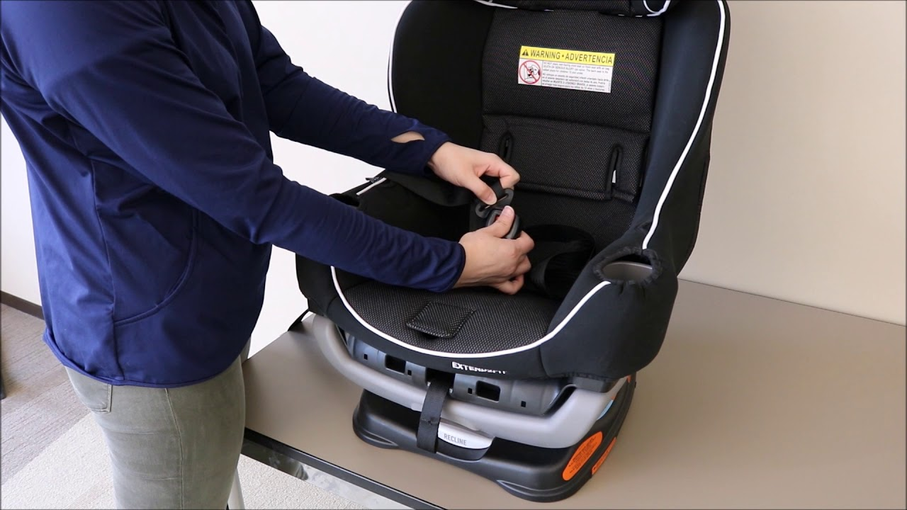graco forever car seat cover installation