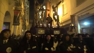 Semana Santa de Málaga 2014. Lunes Santo. Cofradía Dolores del Puente (7)