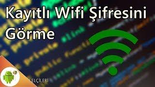 Telefonda Kayıtlı Wifi Şifresini Görme (Programsız)
