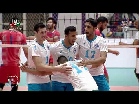 لقطات مباراة الكويت 3 × 0 الهلال السعودي ـ البطولة الخليجية للأندية الأبطال لكرة الطائرة 2019 ـ 2020