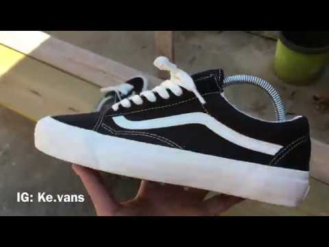 ce1ae60720 Vans Vault OG Old Skool LX Black Marshmallow Review and Comparison ...
