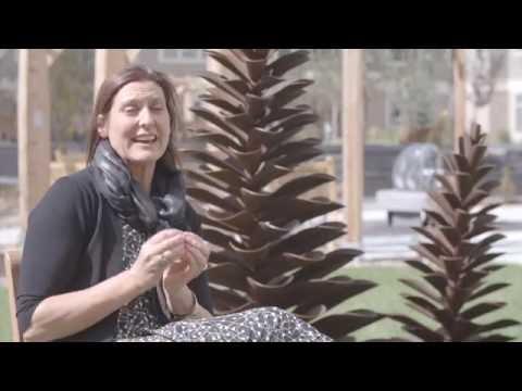 Barbara Pelham talks about Floyd Elzinga's Pine Cones