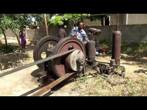 Old Diesel Engine 38 Hp Best Sounding Engine Rural area in Punjab