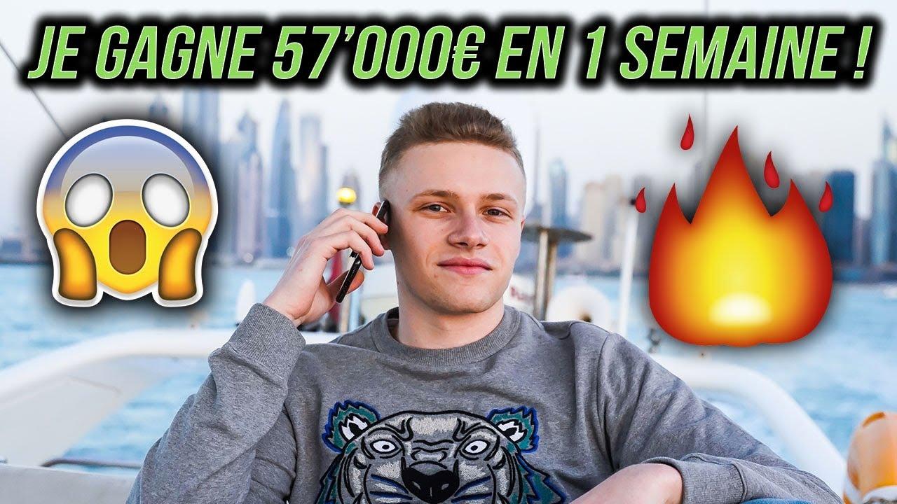 57'000€ EN 1 SEMAINE GRÂCE AU DROPSHIPPING!