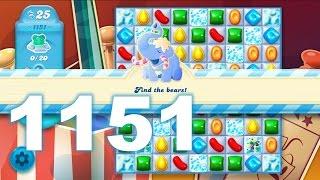 Candy Crush Soda Saga Level 1151 (No boosters)