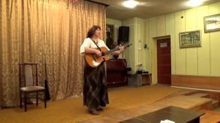 В горнице моей светло, поем вместе со зрителями, Левашова Юлия в библиотеке Обнинск