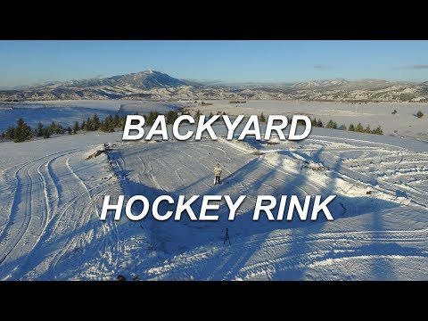 Backyard Hockey Rink Project | Getting Ready for a rink!