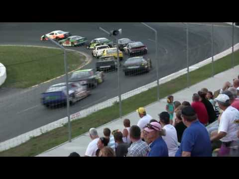 Sunset Speedway Super Stock Last Chance Qualifier 2016 08 20