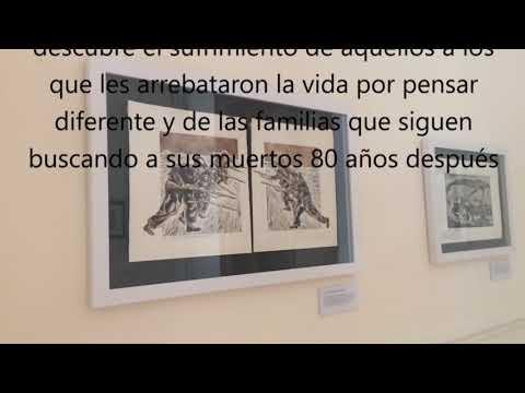 """Exposición """"Guerra de hermanos"""" de Fidel Cuesta Ruiz"""