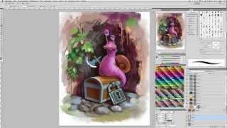 Урок Рисование в photoshop. videotutorials