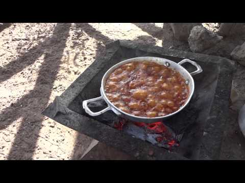 Cooking foul in Metehara Ethiopia
