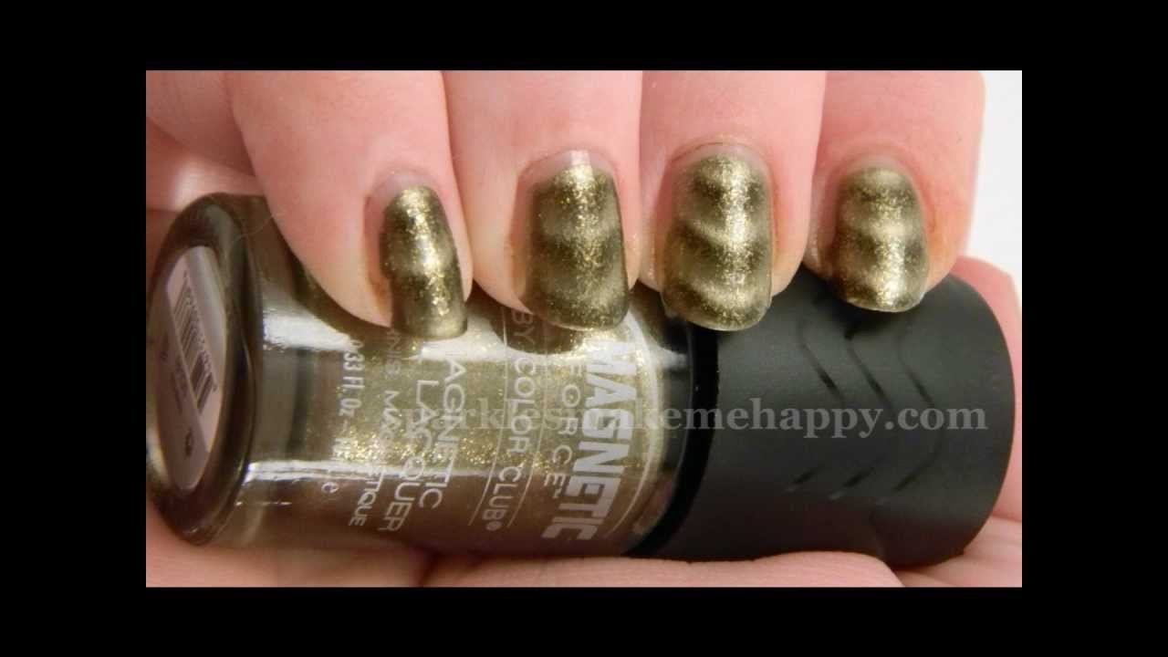 Color Club Magnetic Force Swatches and Review - YouTube