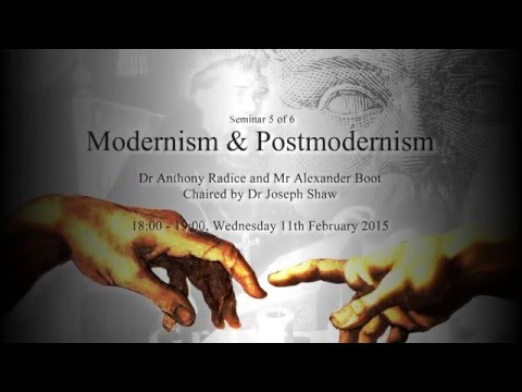 Modernism & Postmodernism - The Death Throes of a Decadent Culture?