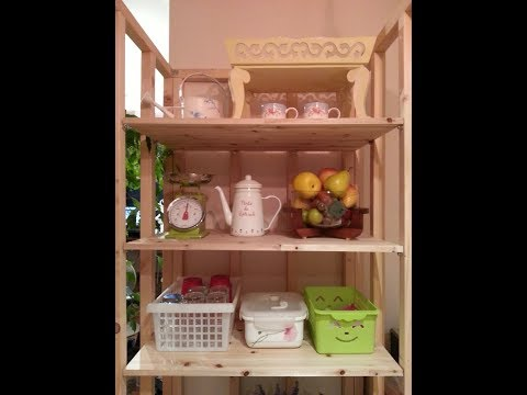 [앙또꼬숑]다용도 원목선반/multi rack/multi wooden shelf/kitchen shelf/DIY/woodworking