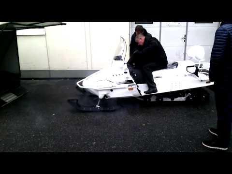 Снегоход Yamaha Viking 540 IV Limited (2015) Первый пуск stehnik.ru СПБ