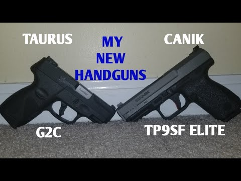 My New Handguns | Taurus G2C | Canik TP9SF Elite