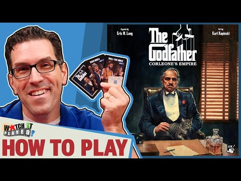 The Godfather: Corleone's Empire. A How To Play Presented by Tabletop Showcase
