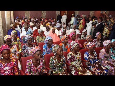Nigeria: 82 kidnapped Chibok girls released in exchange for Boko Haram suspects