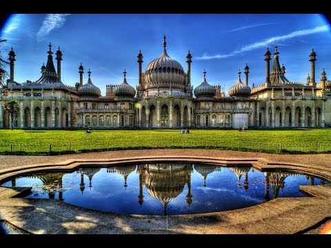 A Walk Around The Royal Pavilion, Brighton, England
