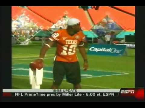 Vince Young: All Star Skills Challenge