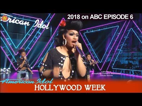 "American Idol 2018 Hollywood Week Round 2 Group Round ""DNA group "" - Ada Vox Kay Kay Gabby Barrett"