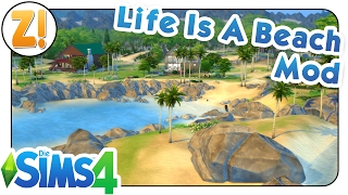 Sims 4 - Tutorial: Der Life Is A Beach Mod [DEUTSCH]
