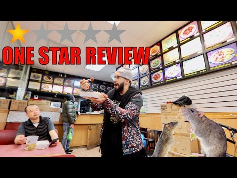Eating At The WORST Reviewed Restaurant In NYC!!! (1 STAR) *RATS*