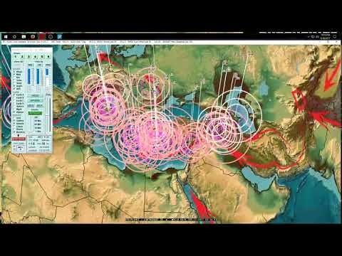 9/26/2017 -- West coast to midwest USA Earthquake Unrest -- West Pacific LARGE EQ THREAT - 동영상