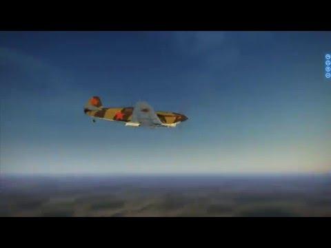 IL2 Battle of Stalingrad: Yak1 vs BF109E7 - Three kills
