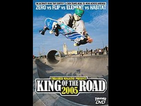 Thrasher Skateboard Magazine King of the Road 2005