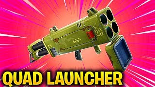 *NEW* QUAD LAUNCHER is COMING in Fortnite Battle Royale... (NEW UPDATE)