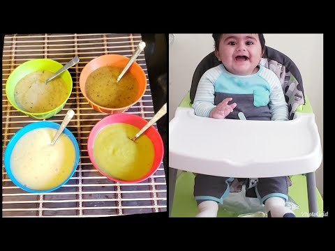 Whats My 10 Month Old Baby Eats In A Day || Meal Ideas For Babies || Baby Food Recipes For 6+ Months