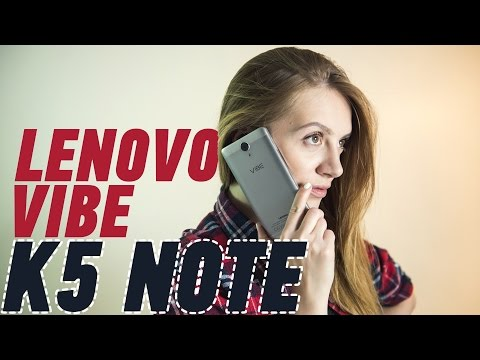 Lenovo Vibe K5 Note: чем не флагман?