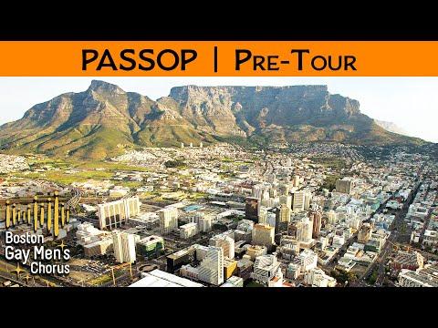 South Africa Pre-Tour - PASSOP - Boston Gay Men's Chorus