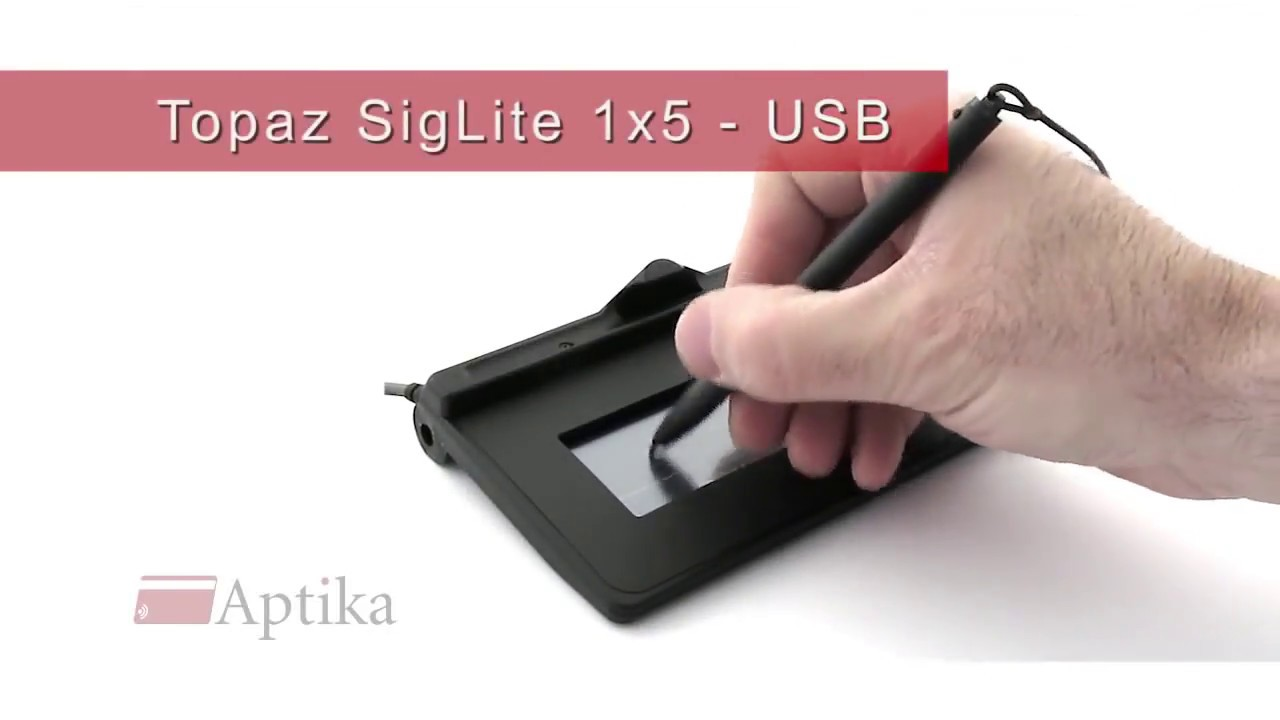 Topaz Signature Pad T-S460-HSB-R