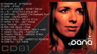 Dj Dana CD1 2004  CD MIX  Hardstyle