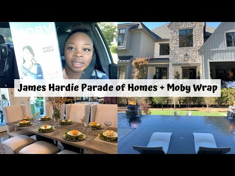 James Hardie Parade of Homes + Moby Wrap