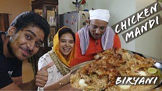 Mandi biryani   Tandoori Chicken Style Mandi Biryani  EID MUBARAK