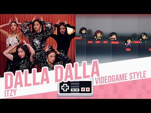 DALLA DALLA, ITZY - Videogame Style